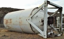 Stationary 100ton Stansteel Silo (1 of 4)
