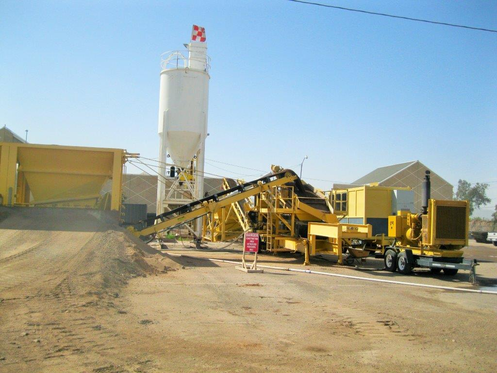 Portable Cement Plant : Concrete equipment and ctb plants for sale aggregate systems