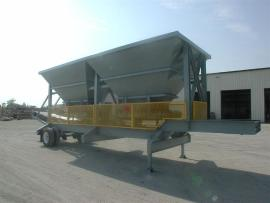 "NEW Portable 2 Bin Cold Feed (9'6""x14') - 8wk Wait (1 of 2)"