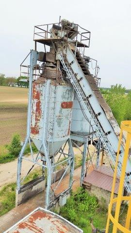 (2) Stationary 100ton Twin Silo Package (200ton total) (3 of 9)
