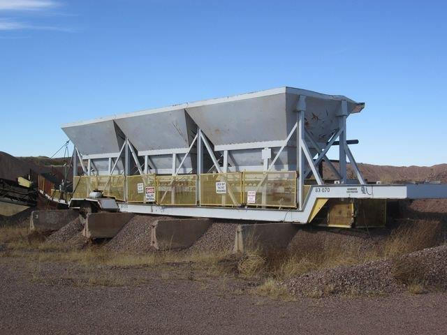 Portable Feed Storage Bins : Cold feed bins for sale aggregate systems