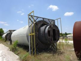 (2) Stationary 200ton Standard Havens Silo Package (400ton Total) (1 of 8)