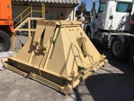 CMI 1-100 TON PORTABLE SILO (HAS AXLE AND TIRES) (Ready to go to work) (5 of 5)