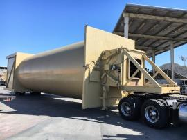 """LIKE NEW"" (PORTABLE) BMG 150 TON REVERSE WEIGH SILO PACKAGE 'READY TO GO TO WORK"" (1 of 9)"