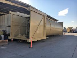 """LIKE NEW"" (PORTABLE) BMG 150 TON REVERSE WEIGH SILO PACKAGE 'READY TO GO TO WORK"" (4 of 9)"