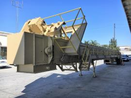 """LIKE NEW"" (PORTABLE) BMG 150 TON REVERSE WEIGH SILO PACKAGE 'READY TO GO TO WORK"" (7 of 9)"